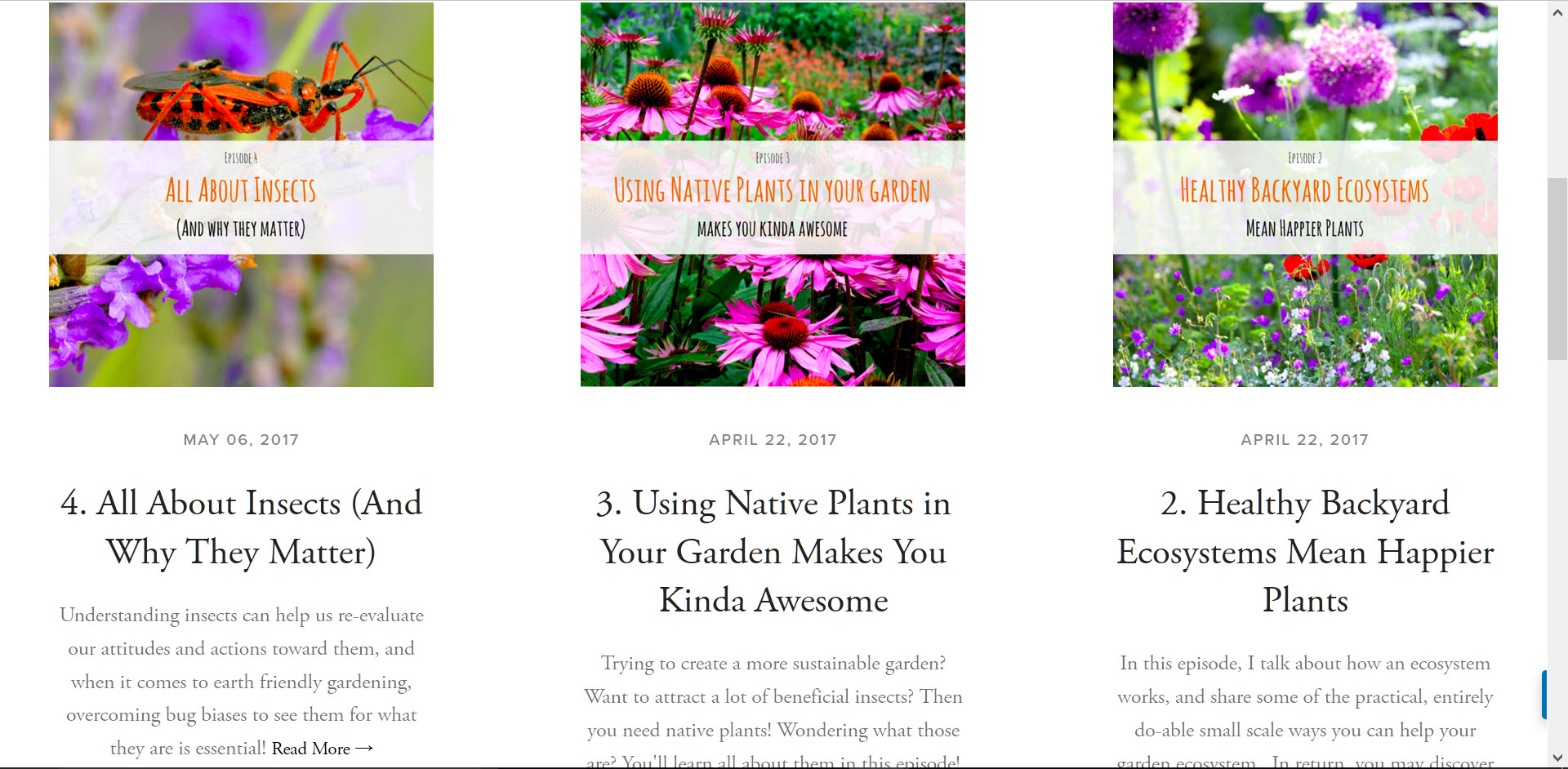 Landscape design with nature in mind the sustainable for Garden design podcast