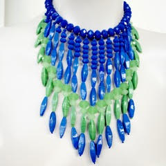 A necklace Candy created