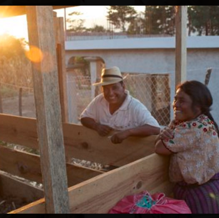 building self-sufficiency in Guatemala